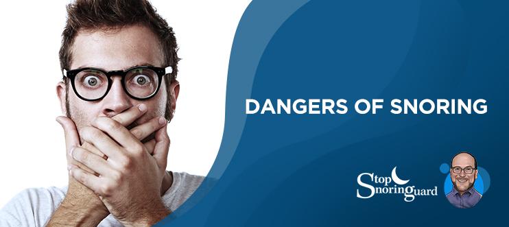 dangers of snoring and sleep apnea