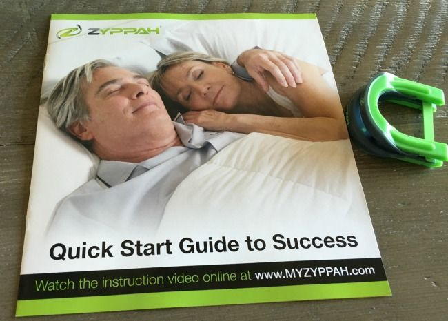 quick guide to use the zyppah anti snoring appliance