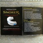 instructions manual for snorerx anti snoring solution