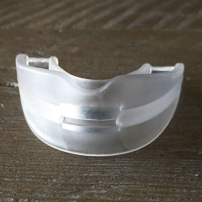 snoredoc front view for stop snoring mouthpiece