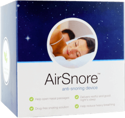 anti snoring device airsnore in a box